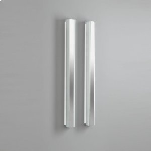 """3-1/2"""" X 30"""" Vertical Fluorescent Light In White Product Image"""