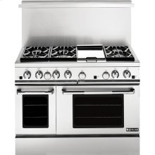 """48"""" Pro-Style® Gas Range with Convection, Pro-Style® Stainless Handle"""