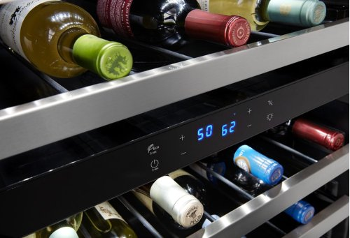 24-inch Wide Undercounter Wine Center with 46-Bottle Wine Storage
