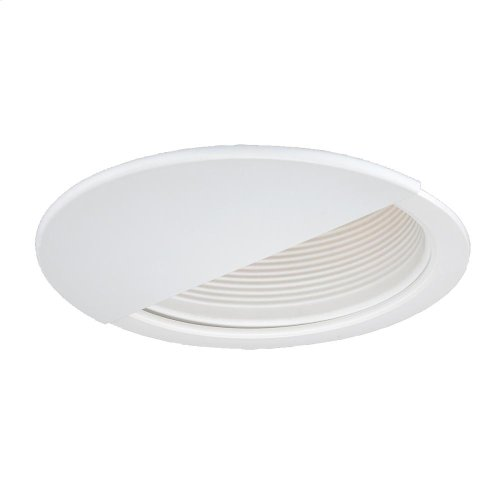 TRIM,6IN WALL WASHER - White