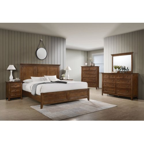 Bedroom - San Mateo King Size Bed