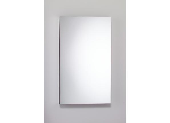 Flat Plain Mirror Cabinet