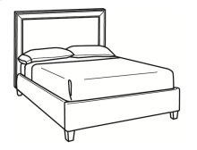 Queen Bed with Short Headboard