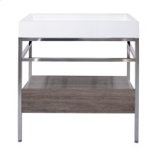 """31"""" x 19"""" free-standing console with drawer"""