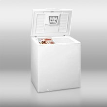 Mid-sized household chest freezer