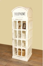 Sunset Trading Cottage English Phone Booth Cabinet - Sunset Trading Product Image