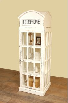 Sunset Trading Cottage English Phone Booth Cabinet