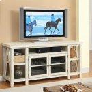 Aberdeen - TV Console - Weathered Worn White Finish Product Image