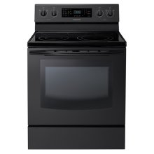 New 5.9 cu. ft. Large Capacity Electric Range (Black)