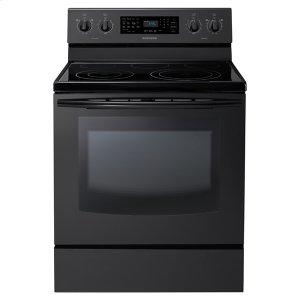 New 5.9 cu. ft. Large Capacity Electric Range (Black) Product Image