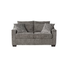 18100 Churchill Gunmetal Loveseat Only