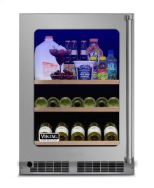 "24"" Beverage Center, Left Hinge/Right Handle"