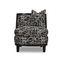 Accent Chair - (Scribble Black)
