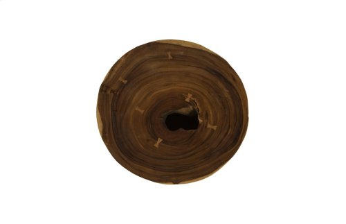 Chamcha Wood Round Coffee Table