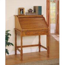 Palmetto Warm Honey Roll Top Secretary Desk