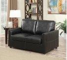 Emerald Home Slumber Twin Sleeper W/gel Foam Mattress Black U3215-33-16 Product Image