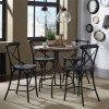 Liberty Furniture Industries X Back Counter Chair - Black