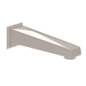 Satin Nickel Vincent Wall Mount Tub Spout