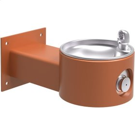 Elkay Outdoor Fountain Wall Mount, Non-Filtered Non-Refrigerated, Terracotta