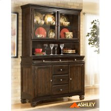 Dining Room Buffet Hayley - Dark Brown Collection Ashley at Aztec Distribution Center Houston Texas