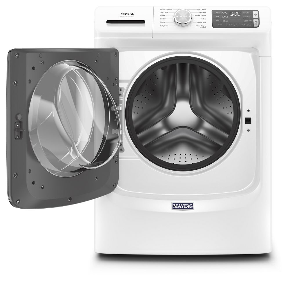 Mhw6630hw Maytag Front Load Washer With Extra Power And 16