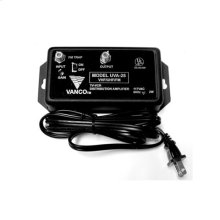 UHF/VHF/FM High Gain Distribution Amplifier with FM Trap- 25 db
