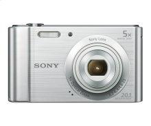 Silver Point and Shoot Digital Still Camera