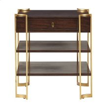 Virage Drawer End Table in Truffle