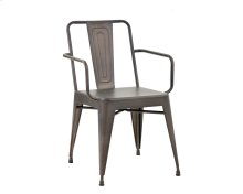 Armour Armchair - Grey