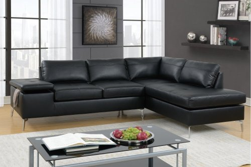 F6519 In By Poundex In Brick Nj 2 Pcs Sectional Sofa
