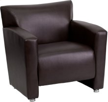 HERCULES Majesty Series Brown Leather Chair