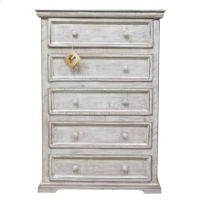 Wheathered White Coliseo Chest
