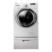 3.7 cu. ft. High Efficiency VRT™ Steam Front Load Washer (Neat White)