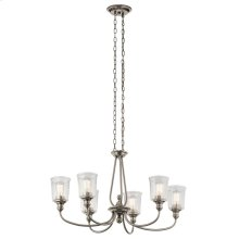 Waverly Collection Waverly Oval 6 Light Chandelier CLP