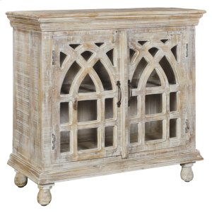 CRESTVIEW COLLECTIONSBengal Manor Light Mango Wood Cabinet