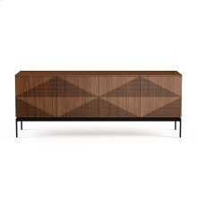 Credenza in Natural Walnut