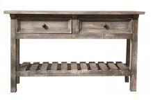 Sofa Table w/ 2 Drawers - Marfil finish