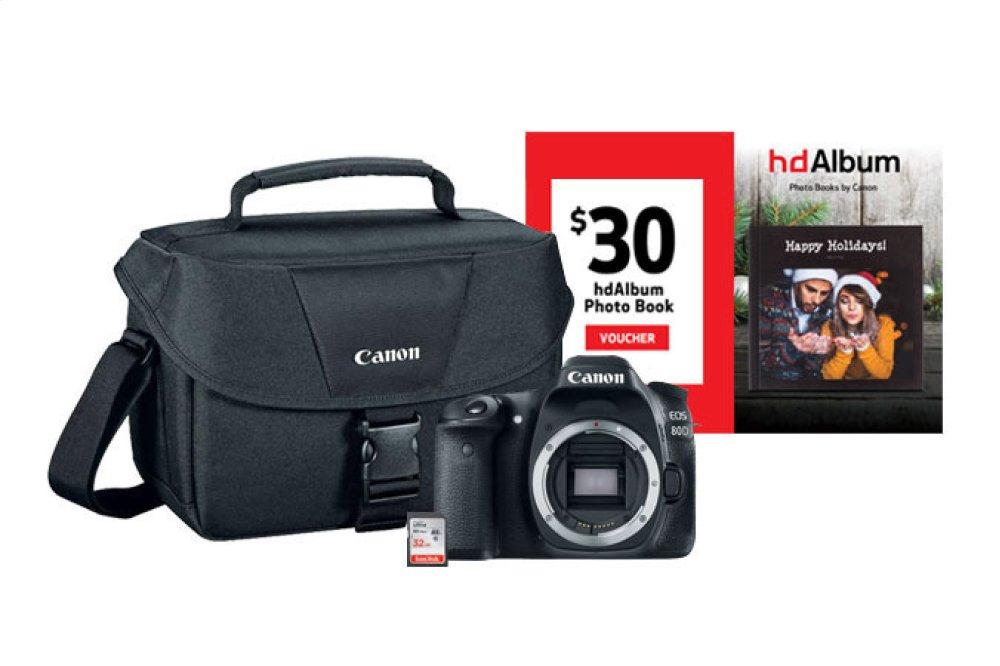 Canon EOS 80D Body Digital SLR Camera