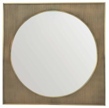 Profile Square Metal Mirror