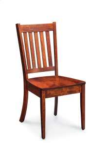 Wright Side Chair, Fabric Cushion Seat