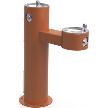 Elkay Outdoor Fountain Bi-Level Pedestal Non-Filtered, Non-Refrigerated Freeze Resistant Terracotta