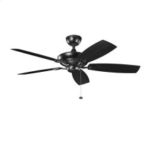 Canfield Patio Collection 52 Inch Canfield Patio Fan SBK