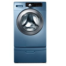 3.6 cu. ft. Large Capacity Front Load Washer (Blue)