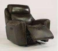 Mystic Leather Power Gliding Recliner with Power Headrest Product Image