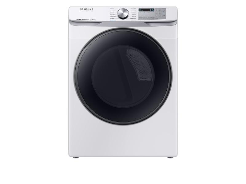 Samsung7.5 Cu. Ft. Smart Gas Dryer With Steam Sanitize+ In White