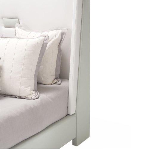 Queen Upholstered Panel Bed (2 Pc)
