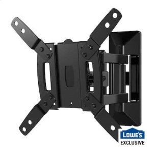 "SanusFull-Motion Mount for 13"" - 40"" TVs up to 50lbs. Comes with Bonus 6.5ft 4k HDMI Cable."