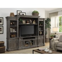 Gramercy Park Entertainment Wall consisting of four pieces