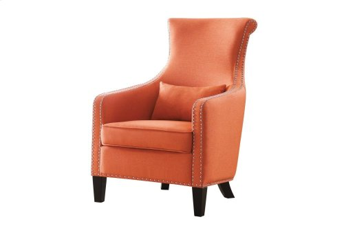 Accent Chair with 1 Kidney Pillow