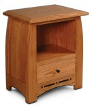 Aspen Nightstand with Opening and Inlay Product Image